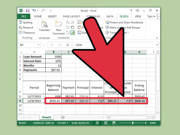 Loan Payback Spreadsheet Intended For How To Prepare Amortization Schedule In Excel: 10 Steps
