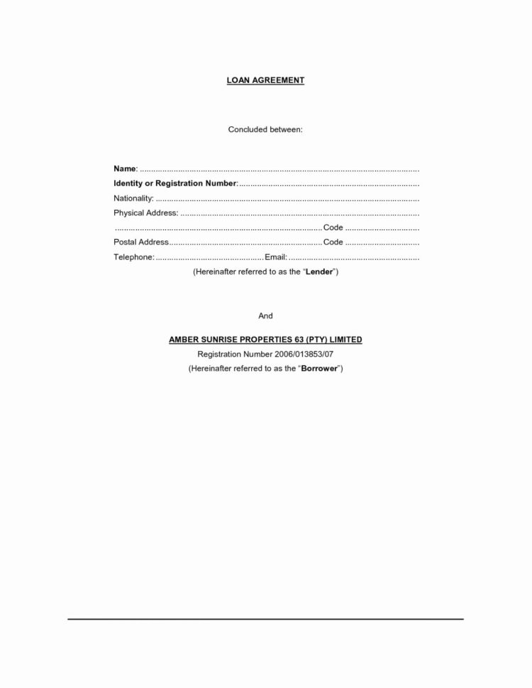 Loan Spreadsheet Google Docs Regarding Best Free Fillable Forms Standard Loan Agreement Blank Form Sample