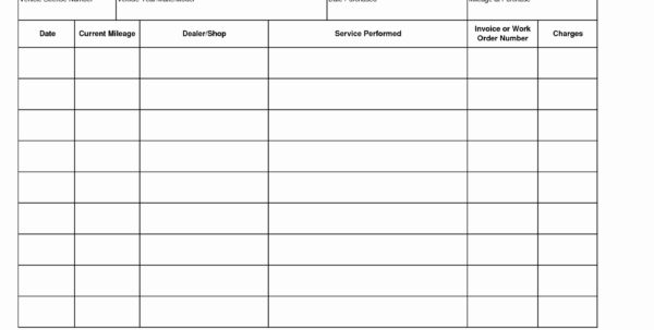 Log Book Auditing Spreadsheet Intended For Truck Maintenance Spreadsheet Invoice Template