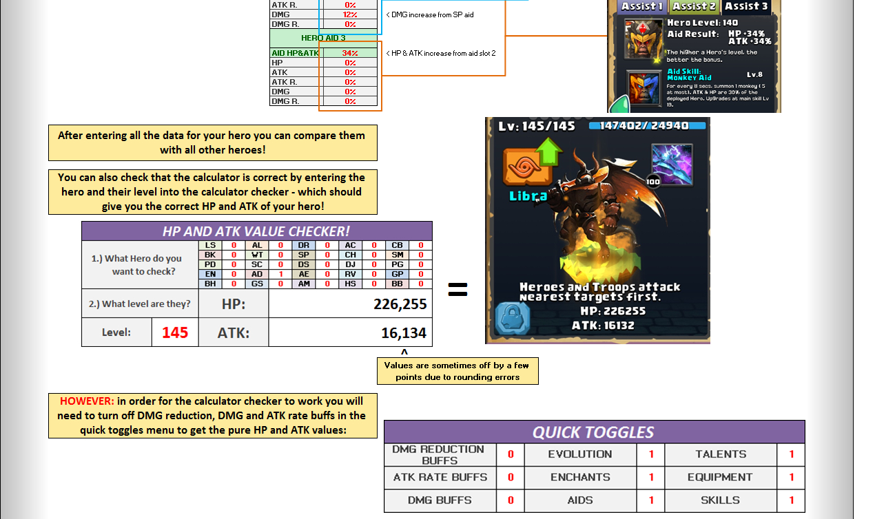 Lords Mobile Colosseum Spreadsheet Throughout Clash Of Lords 2