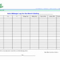 Lost Wages Spreadsheet Pertaining To Form Templates Mileage Spreadsheet For Irs Awesome Template Vehicle