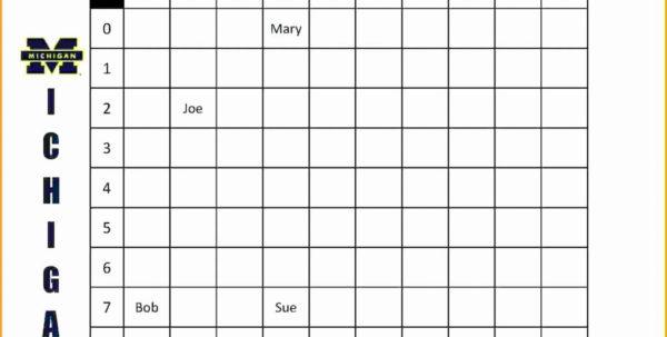 Lottery Pool Spreadsheet Inside Weekly Football Pool Spreadsheet Lottery Template New Excel 2018