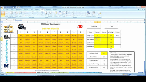 Lottery Pool Spreadsheet Template In 009 Template Ideas Football Squares Excel Super Bowl ~ Ulyssesroom