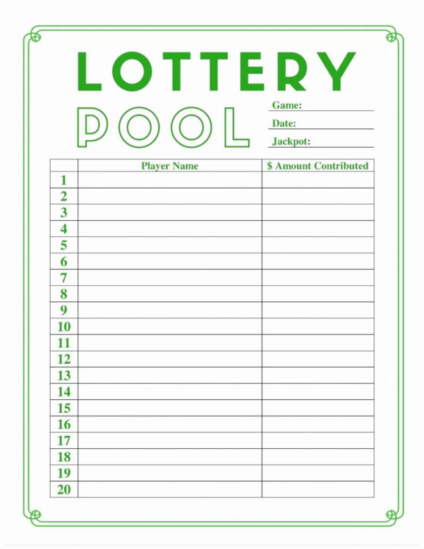 lottery spreadsheet template printable spreadshee lottery