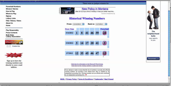 Lottery Tracking Spreadsheet In Powerball Spreadsheet Free  Homebiz4U2Profit