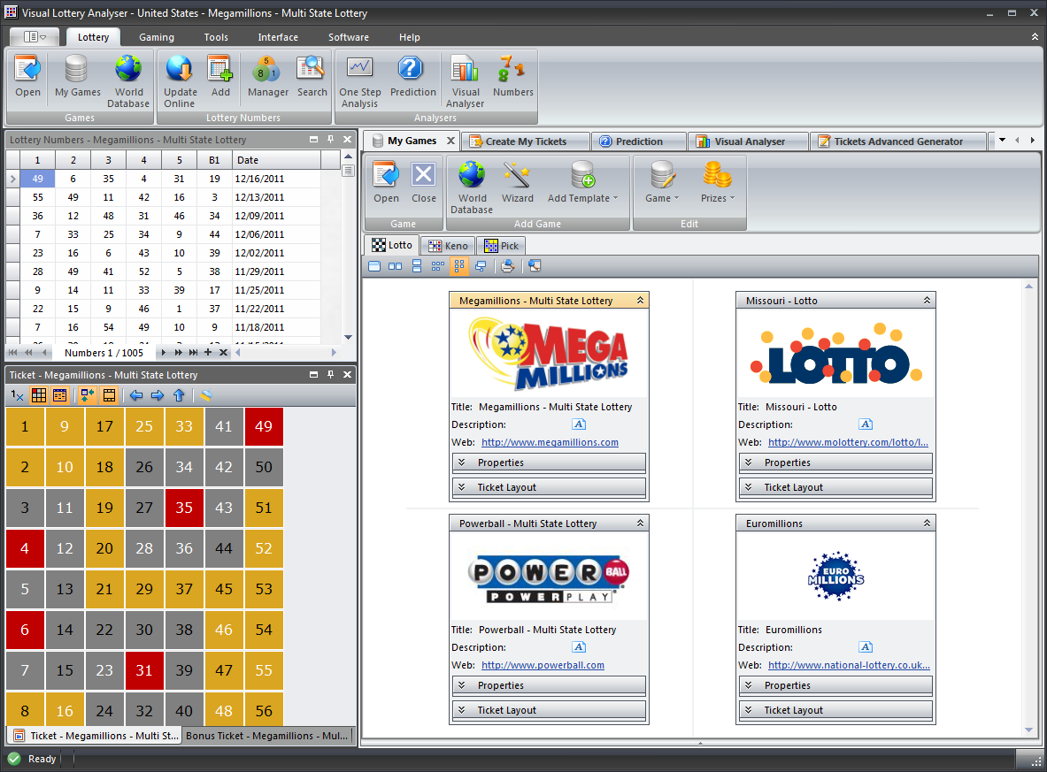 Lotto Excel Spreadsheet Download With Free Download: Lottery Prediction Excel