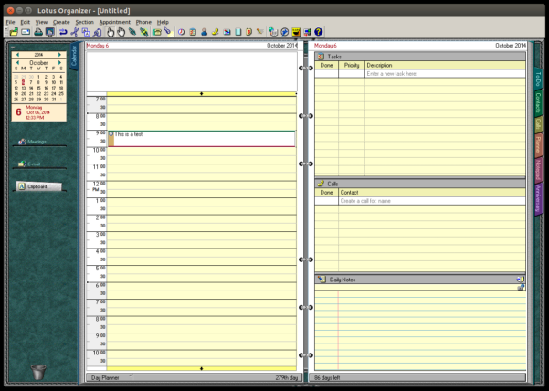 Lotus Spreadsheet Throughout A Quiet Farewell Lotus 123, Organizer And Smartsuite