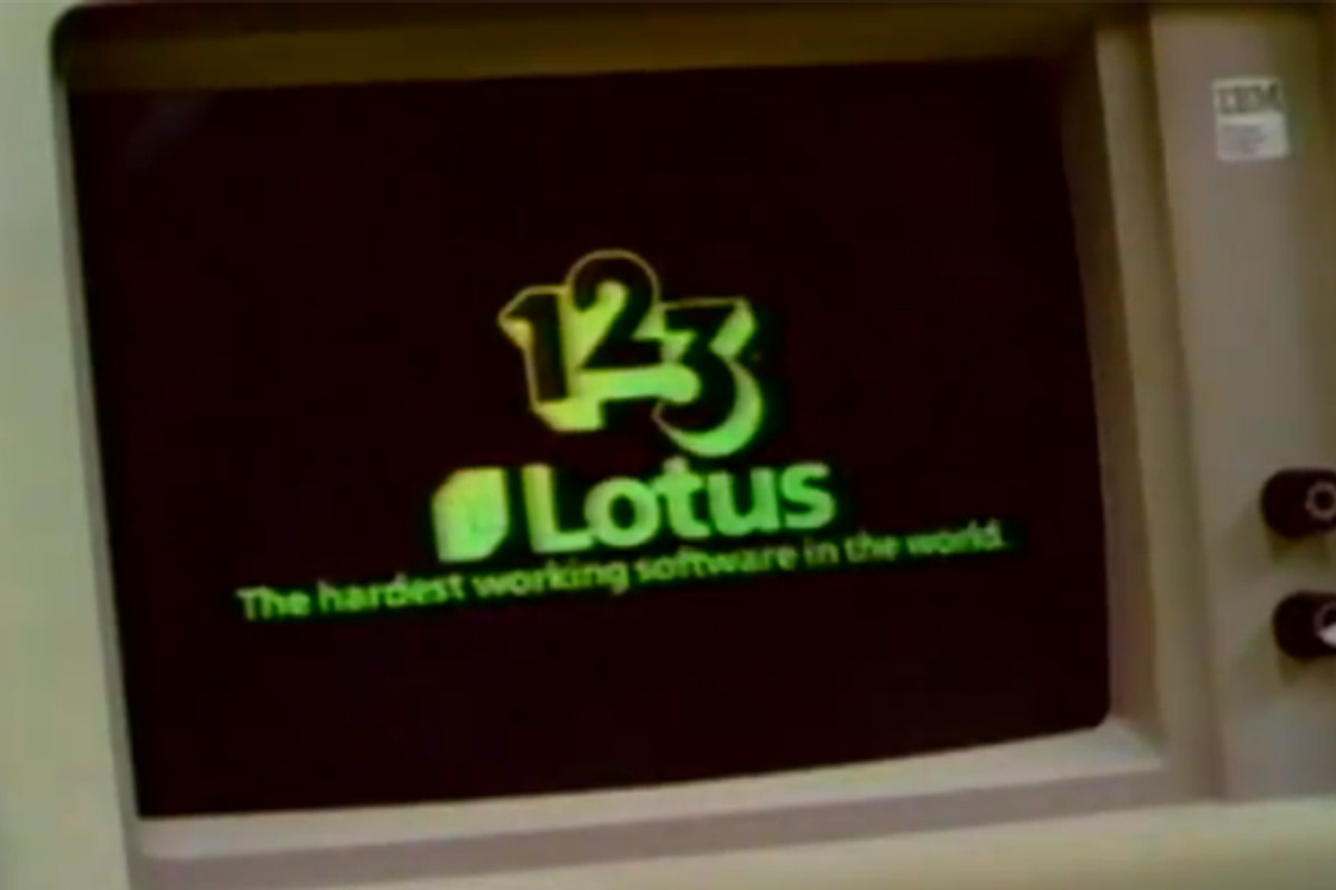 Lotus Spreadsheet Within 30 Years Ago, Lotus 123 Made Office Software Awesome  The Verge