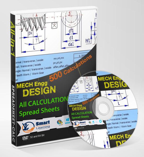 Machine Foundation Design Spreadsheet In Mechanical Engineering Design Calculation Complete Spreadsheet Kit