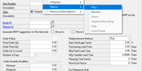 Macro Spreadsheet Regarding Mail Merge Macro Overview In Dynamics Gp  Encore Business Solutions