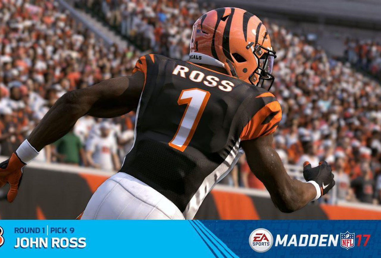 Madden 17 Rookie Ratings Spreadsheet Regarding Madden 17' Rookie Ratings: John Ross, Myles Garrett And Complete