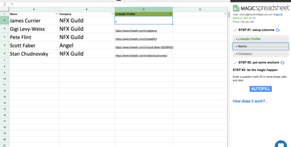 Magic Spreadsheet Intended For Magic Spreadsheet  Betapage