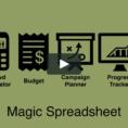 Magic Spreadsheet Pertaining To Intro To The Magic Crowdfunding Spreadsheet On Vimeo