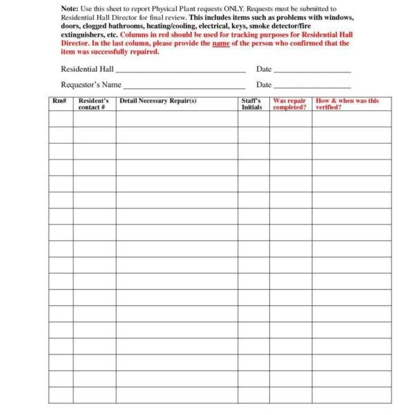 Maintenance Inventory Spreadsheet Pertaining To Preventive Maintenance Spreadsheet Fire Extinguisher Inventory
