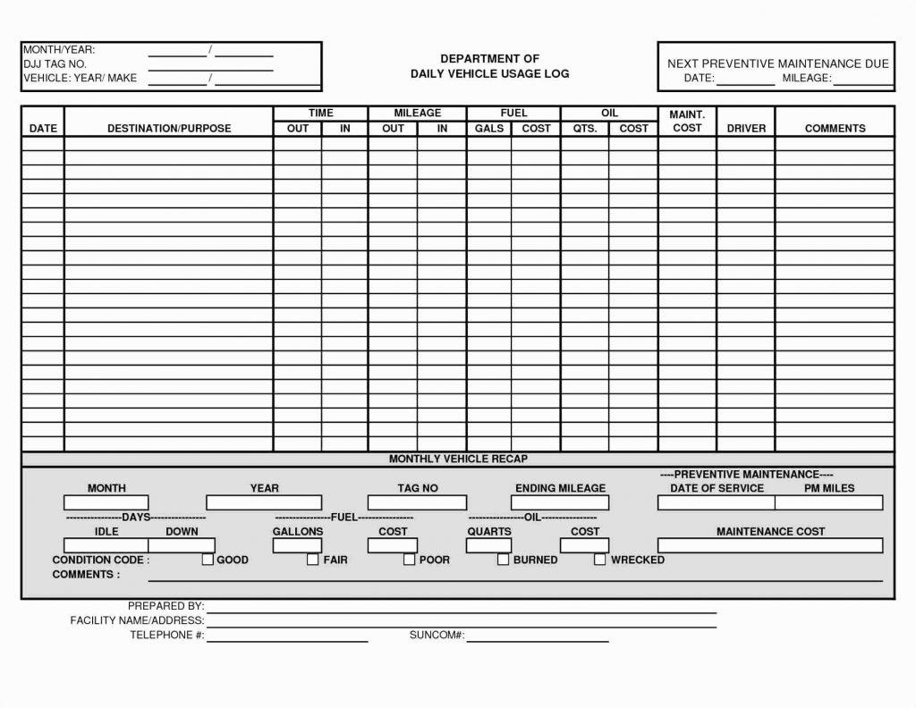 Maintenance Spreadsheet Template In Preventive Maintenance Spreadsheet Excel Download Template Invoice