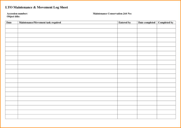 Maintenance Spreadsheet Template With Regard To Example Of Preventive Maintenance Spreadsheet Schedule Selo L Ink