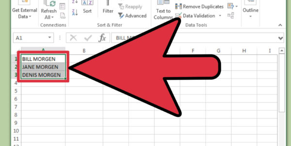 Making A Spreadsheet In Word In 4 Ways To Change From Lowercase To Uppercase In Excel  Wikihow