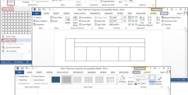 Making A Spreadsheet In Word Regarding How To Create Tables In Microsoft Word  Pcworld Making A Spreadsheet In Word Google Spreadsheet