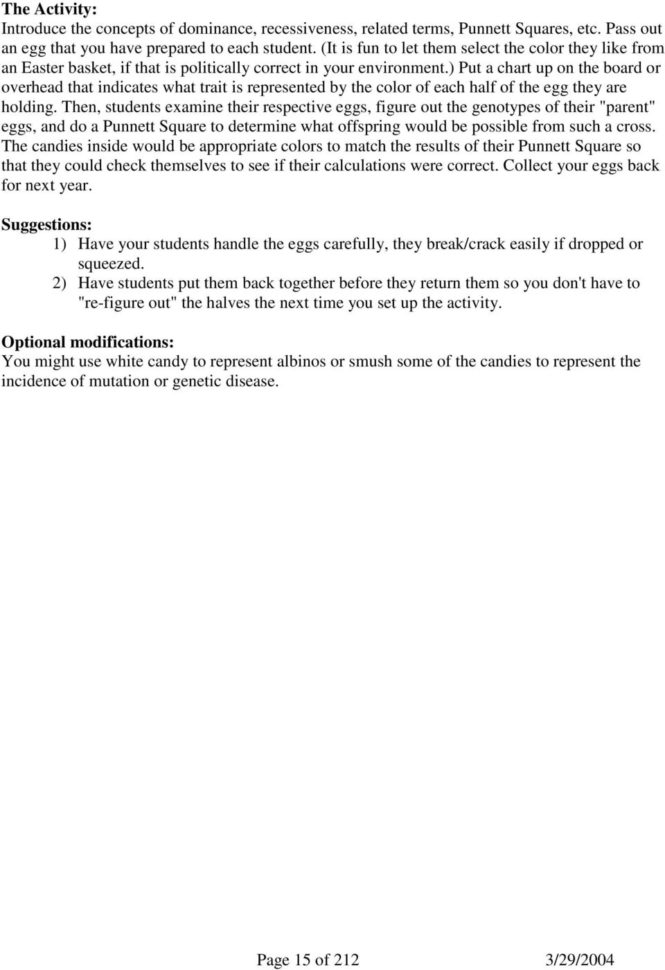 M&m Spreadsheet Activity Regarding Mm Science And Math  Pdf