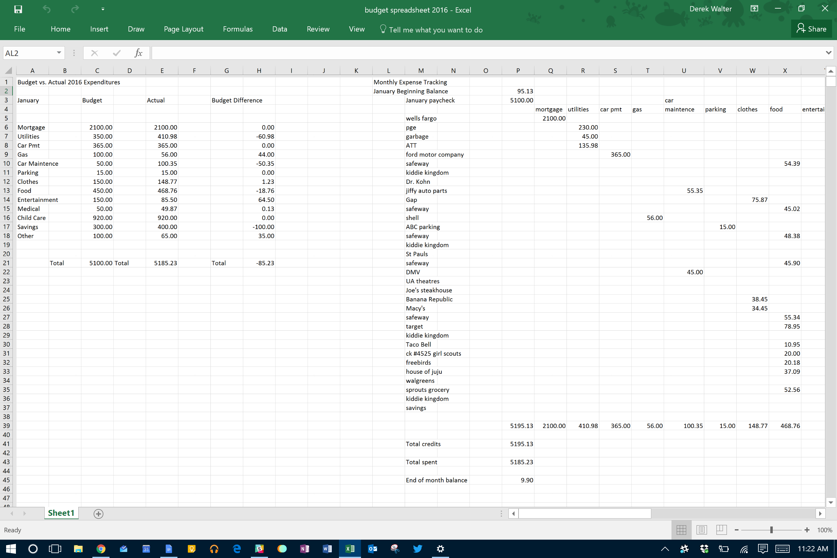 Manage My Bills Free Spreadsheet Regarding Microsoft Excel  The Spreadsheet Takes Minutes To Maintain  It Pro