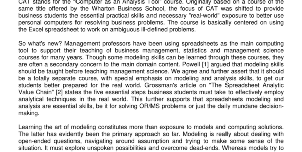 Management Science The Art Of Modeling With Spreadsheets Pdf Download Regarding Pdf Essential Spreadsheet Modeling Course For Business Students