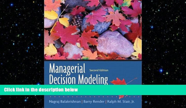 Managerial Decision Modeling With Spreadsheets 2Nd Edition Pdf With Free Download Managerial Decision Modeling With Spreadsheets 2Nd