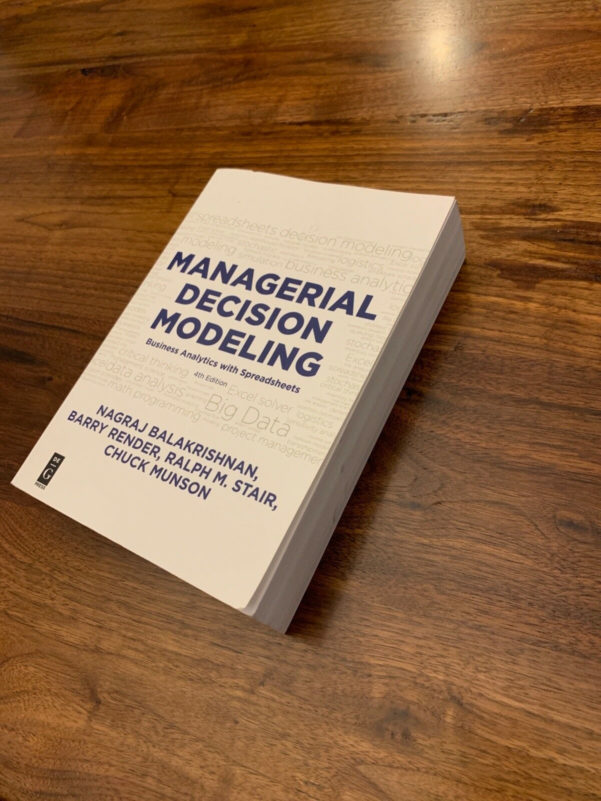 Managerial Decision Modeling With Spreadsheets 2Nd Edition Pdf With Managerial Decision Modeling : Business Analytics With Spreadsheets