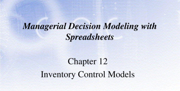 Managerial Decision Modeling With Spreadsheets Within Ppt  Managerial Decision Modeling With Spreadsheets Powerpoint