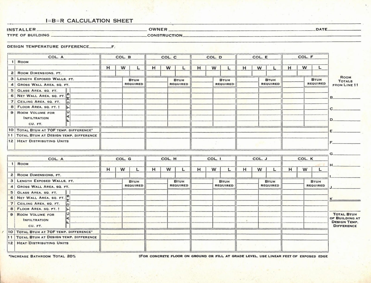 Manual D Spreadsheet In Spreadsheet Example Of Manual J Calculation Load For Hvac