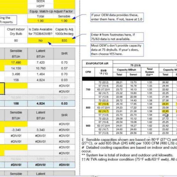 Manual S Spreadsheet With Manuals Speedsheet Youtube  Youtube In Acca Manual J Spreadsheet