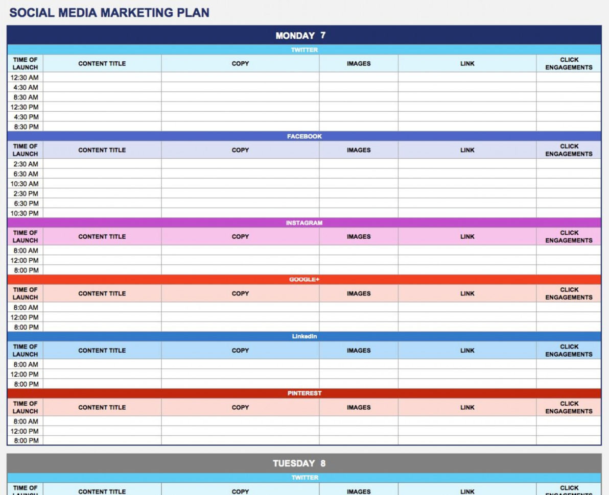 Marketing Plan Spreadsheet Intended For 003 Template Ideas Sample Marketing Plan Templates ~ Ulyssesroom