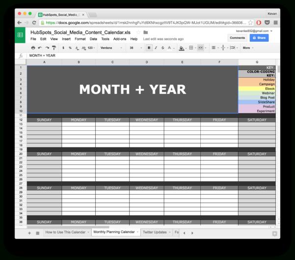 Marketing Spreadsheet Examples Regarding 10 Readytogo Marketing Spreadsheets To Boost Your Productivity Today