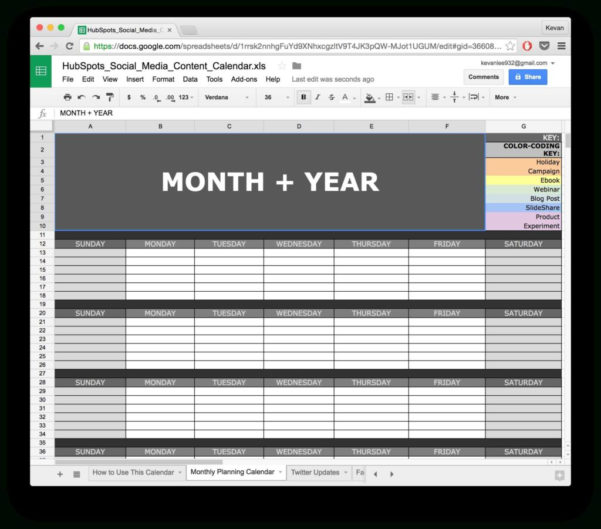 Marketing Spreadsheet In Social Media Tracking Spreadsheet And 10 Ready To Go Marketing