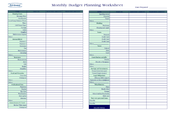 Martin Lewis Budget Spreadsheet Intended For Budget Spreadsheet Excel  Spreadsheet Collections