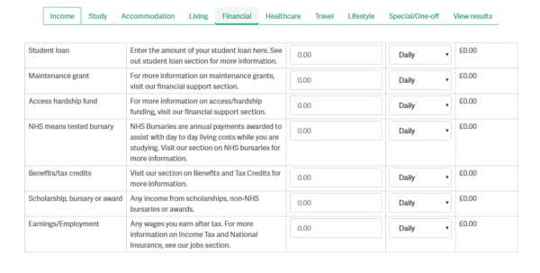 Martin Lewis Budget Spreadsheet With Regard To Banking  Budgeting  Student Services
