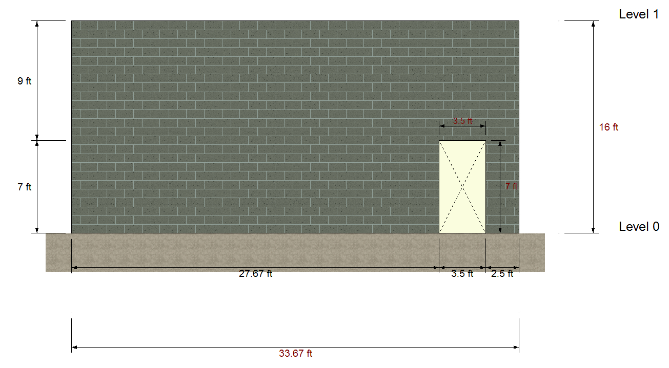 Masonry Shear Wall Design Spreadsheet Pertaining To Ram Elements Crashing During Masonry Shear Wall Design For Certain