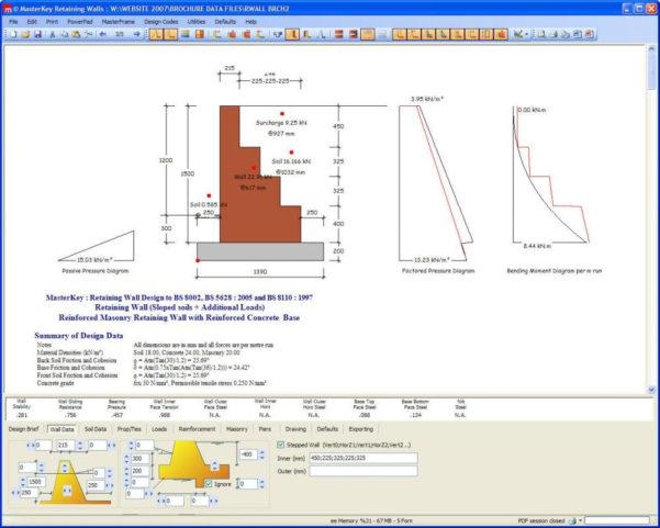 Masonry Wall Design Spreadsheet Throughout Z Purlin Design Spreadsheet Software Sheet Masonry Retaining Wall