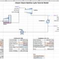 Mass Balance Spreadsheet Template Inside Jsteam Online Help Manual  Rankine