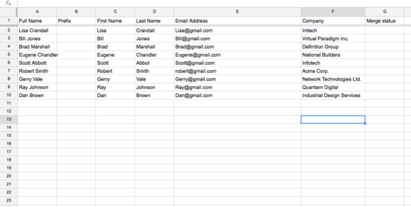 Mass Email From Excel Spreadsheet For Gmail Mass Email Tips: Avoid The Spammy Look With The Personalized