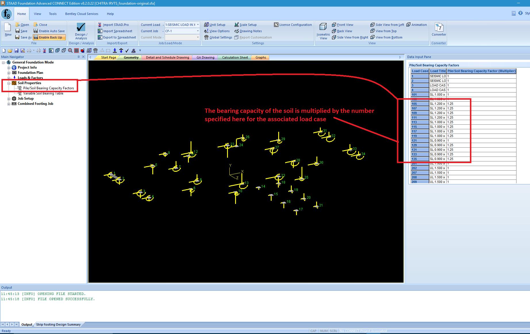 Mat Foundation Design Spreadsheet Within Pile/soil Bearing Capacity Factors Form
