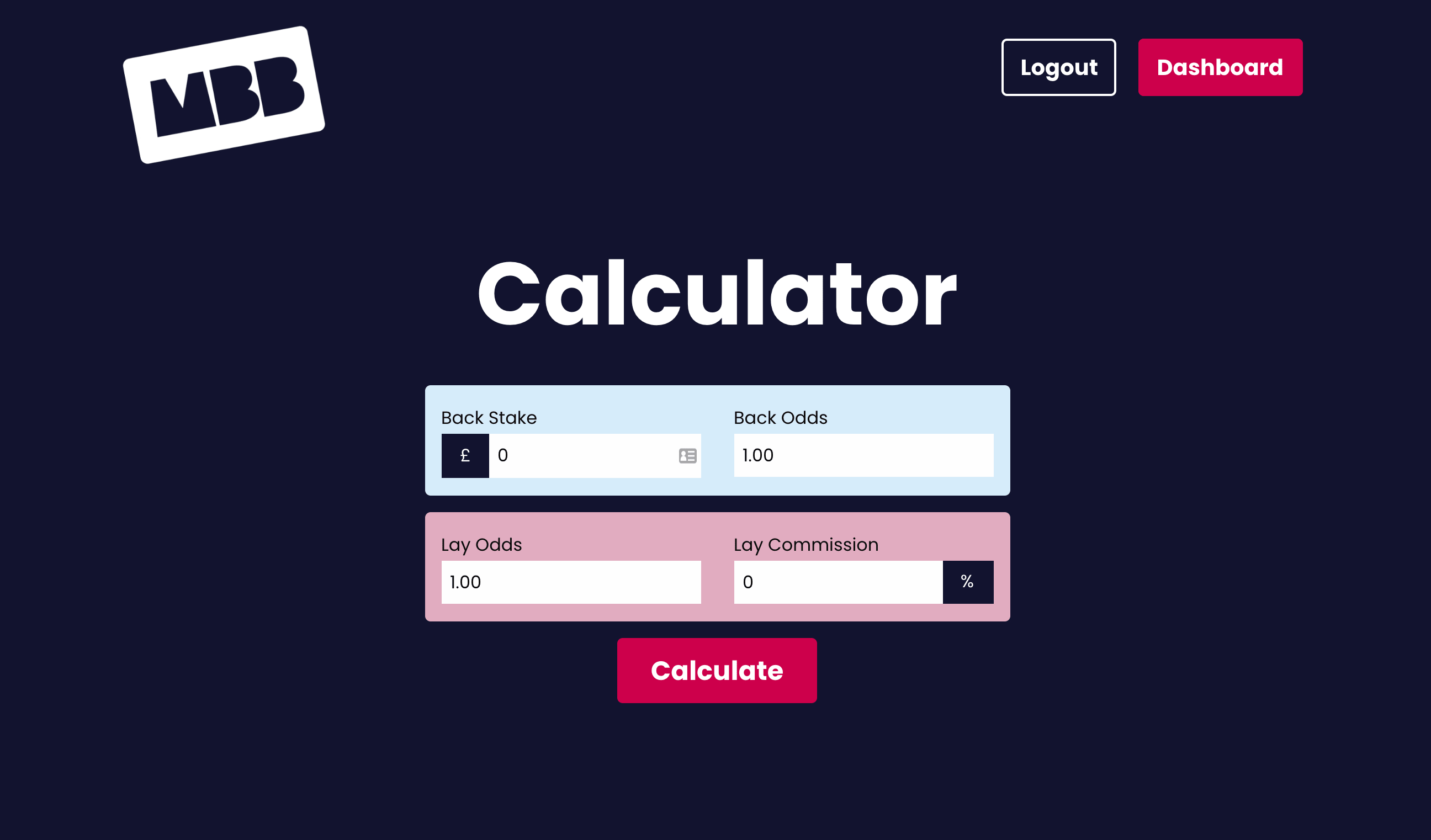 Matched Betting Calculator Spreadsheet Within Matched Betting Calculator