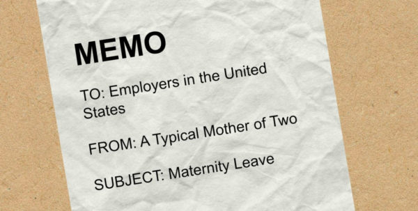 Maternity Leave Budget Spreadsheet With Regard To An Open Letter To Employers Regarding Maternity Leave