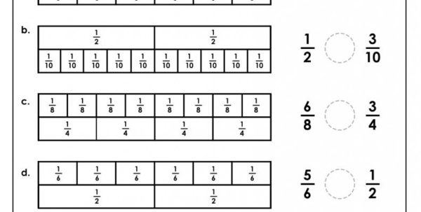 Math Spreadsheet Within Math Fractions Worksheets 4Th Grade Common Core Improper Spreadsheet
