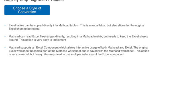 Mathcad Spreadsheet Throughout Converting Excel To Mathcad  Ppt Download Mathcad Spreadsheet Printable Spreadsheet