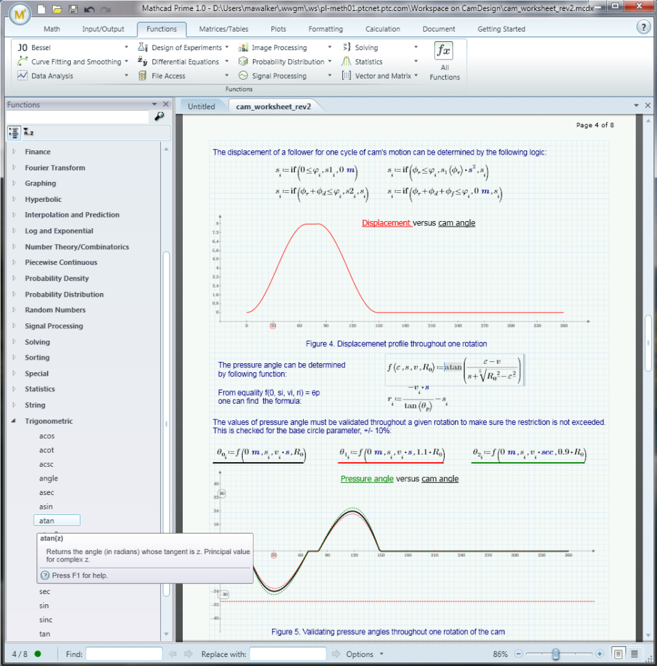 Mathcad Spreadsheet Within Mathcad File Extensions