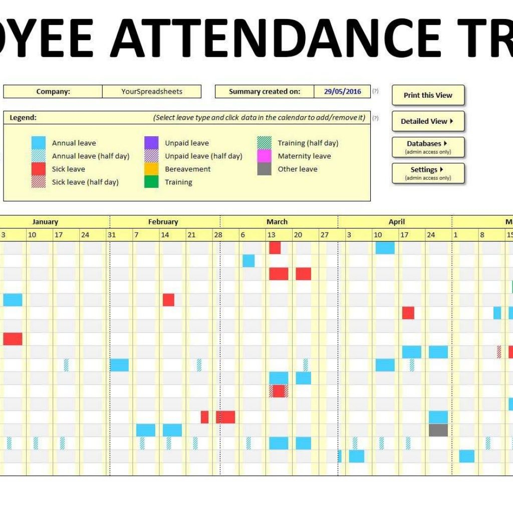 Matrix Spreadsheet With Employee Training Tracking Spreadsheet Template And Employee