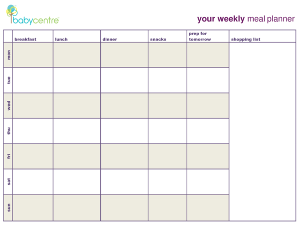 Meal Plan Spreadsheet Intended For Meal Plan Spreadsheet Unique Sample Breakfast Menu Template Cycle