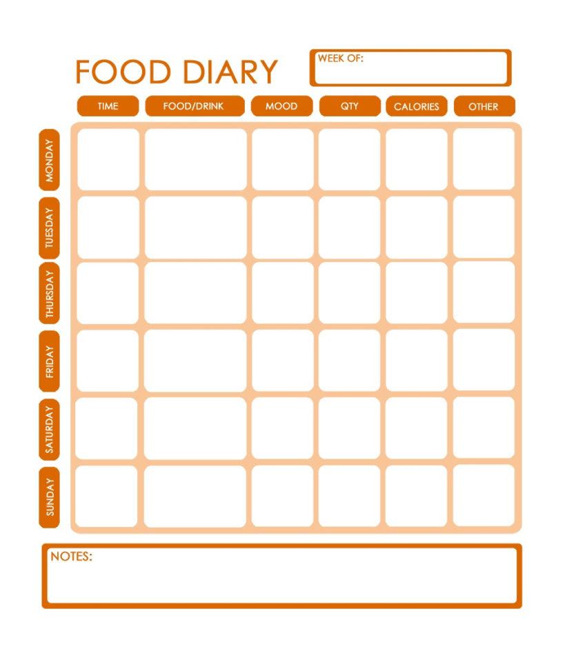 Meal Tracker Spreadsheet Inside Meal Tracker Template  Rent.interpretomics.co