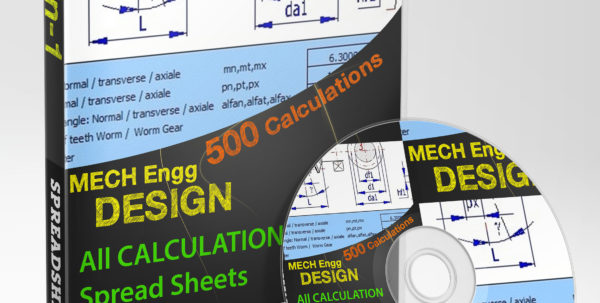 Mechanical Engineering Excel Spreadsheets Within Mechanical Engineering Design Spreadsheet Toolkit