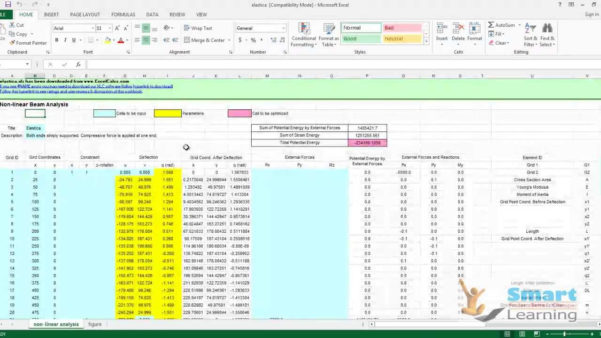 Mechanical Engineering Spreadsheets Free Download Regarding Mechanicaling Design Spreadsheet Toolkitcontains More Than Excel